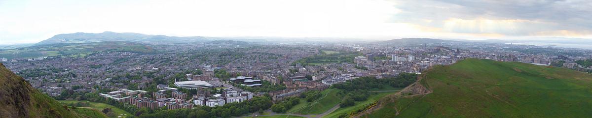 Edinburgh from Calton Hill Gigapixel Photography