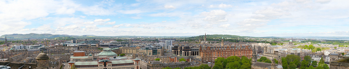 Edinburgh Castle West View Gigapixel Photography