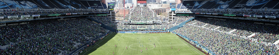 MLS Seattle Sounders vs Colorado Rapids Gigapixel Photography