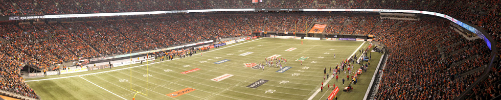 2012 CFL Western Finals - BC Lions vs Calgary Stampeders Ronnie Miranda Gigapixel Photography