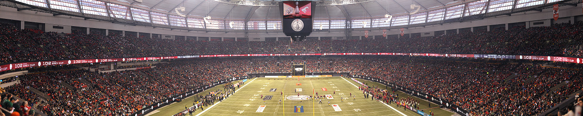 CFL 102nd Grey Cup - Calgary Stampeders vs Hamilton Tiger-Cats Gigapixel Photography