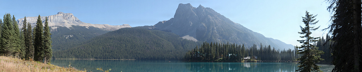 Emerald Lake, Yoho National Park Gigapixel Photography