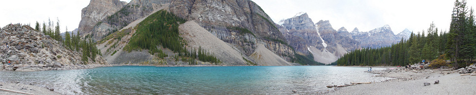 Moraine Lake, Banff National Park Gigapixel Photography