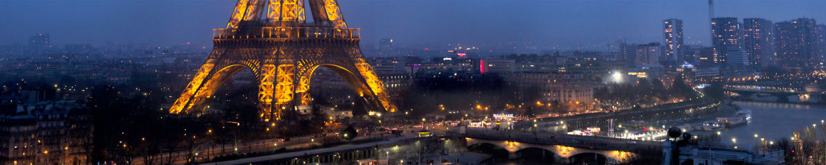 Eiffel Tower from Shangri-la Hotel Paris Gigapixel Photography
