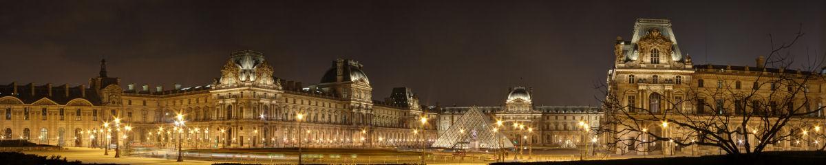 Musée du Louvre Gigapixel Photography