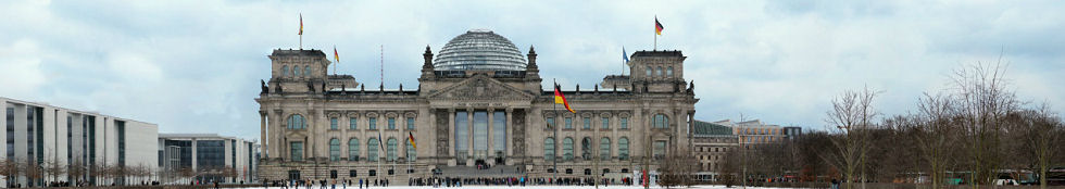 Reichstag Building Gigapixel Photography