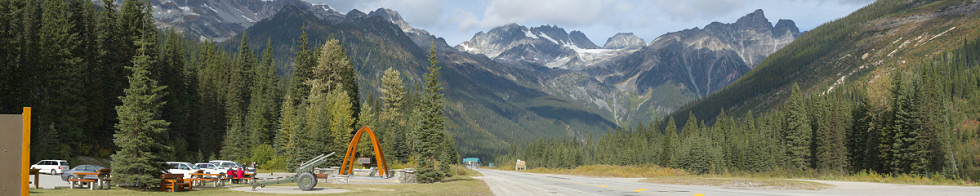 Rogers Pass National Historic Site of Canada, Glacier National Park Gigapixel Photography