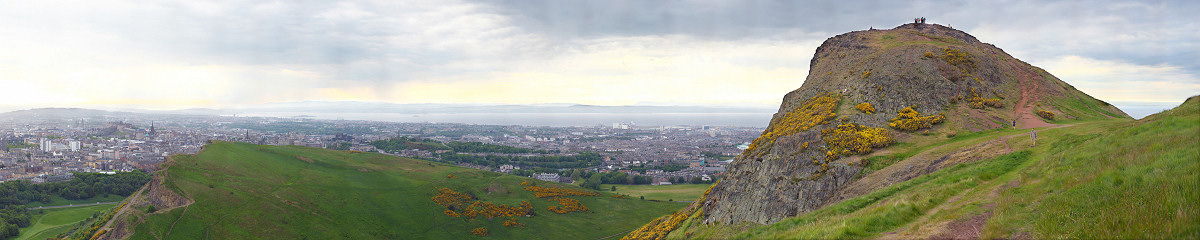 Edinburgh from Calton Hill Gigapixel Photography