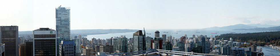 Vancouver 360 from Shaw Tower Gigapixel Photography