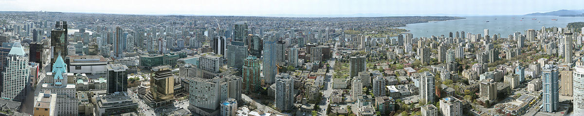 Downtown Vancouver Gigapixel Photography