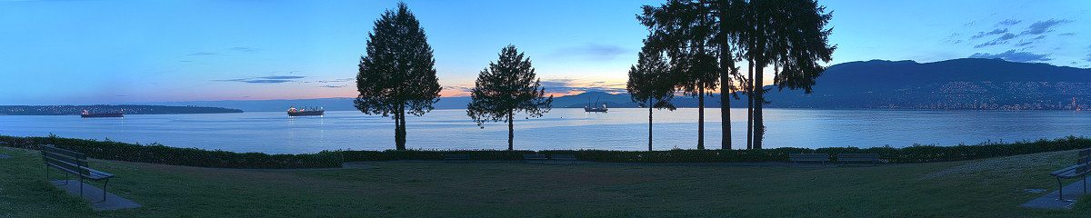 Ferguson Point at Stanley Park Gigapixel Photography