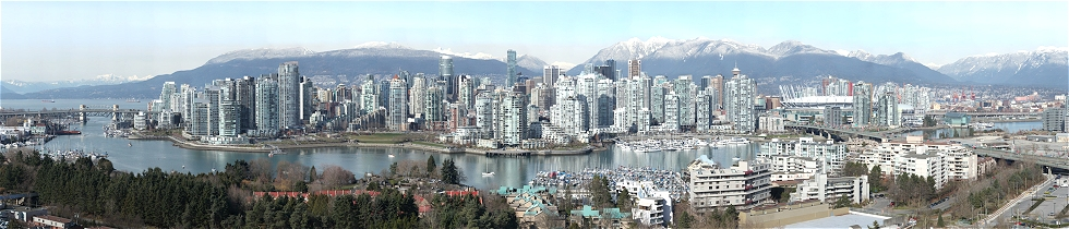 Vancouver Skyline from Fairview