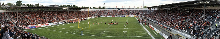 CFL BC Lions Gigapixel Photography