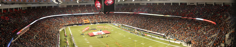 BC Place Stadium Gigapixel Photography