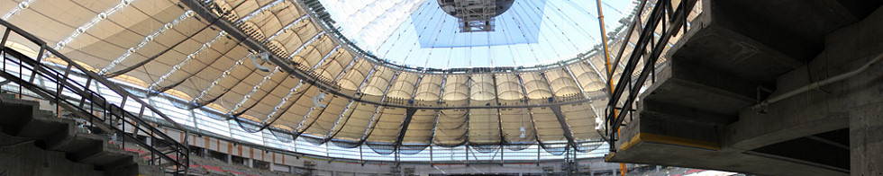 BC Place Stadium Construction