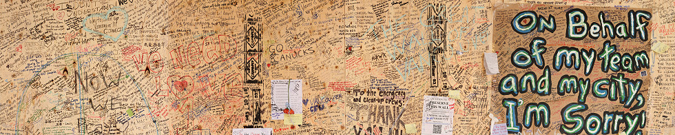 Vancouver Riot Apology Wall Gigapixel Photography