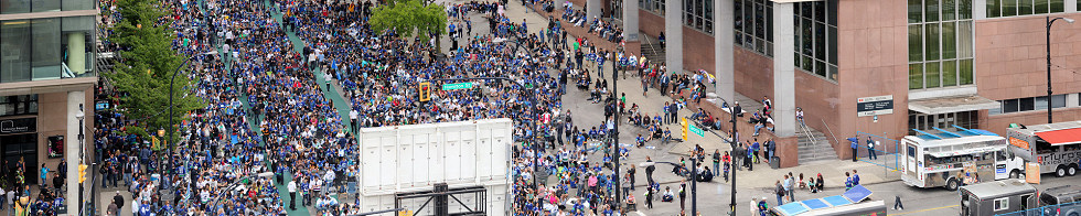 2011 Stanley Cup Canucks Fan Zone Gigapixel Photography