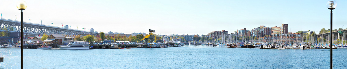 Granville Island at False Creek Gigapixel Photography