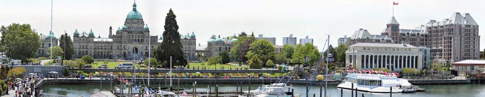 Victoria Inner Harbour Gigapixel Photography