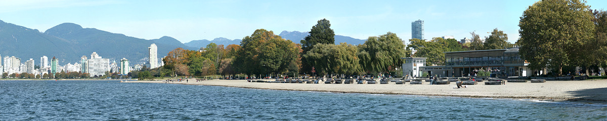 Kitsilano Beach Gigapixel Photography