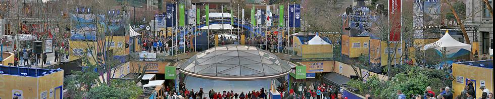 Robson Square Celebration Site