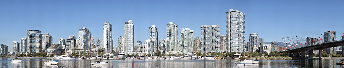 Yaletown Condos Gigapixel Photography