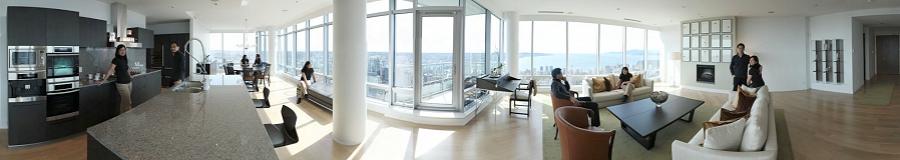Living Shangri-la Vancouver Condo Gigapixel Photography