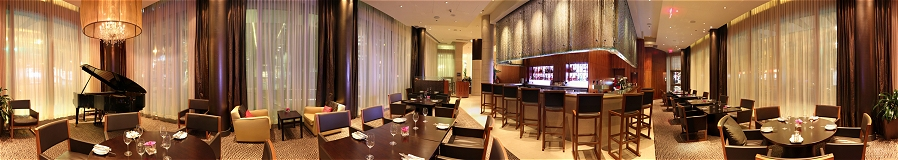 GigaPan Shangri-la Hotel Vancouver Lobby Lounge