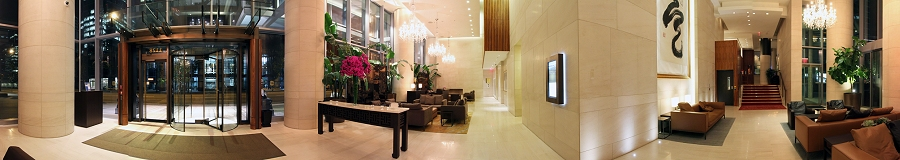 Shangri-la Hotel Vancouver Main Lobby Gigapixel Photography