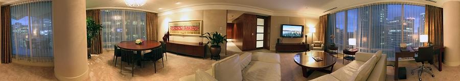 GigaPan Shangri-la Hotel Vancouver Orchid Suite